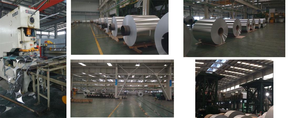 Nuestras plantas de aluminio