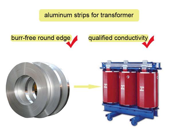 cinta de aluminio para transformadors