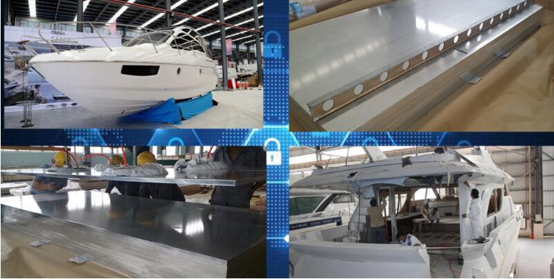 La excelente calidad de placa naval de aluminio- la empresa lograr el base competitivo de mercado