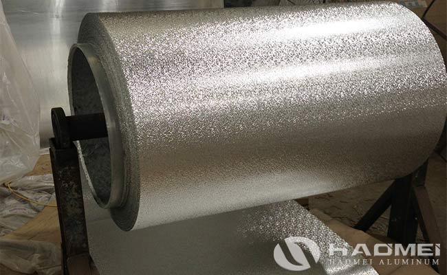 chapa aluminio gofrado