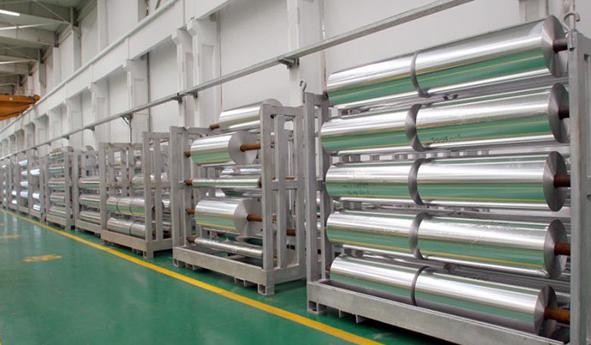 foil de aluminio uso