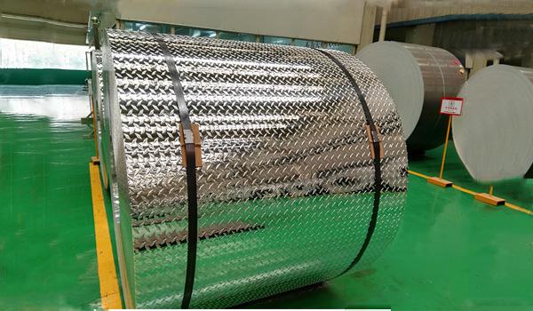 plancha de aluminio diamatado