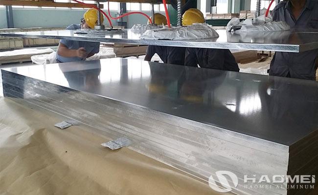 planca de aluminio precio