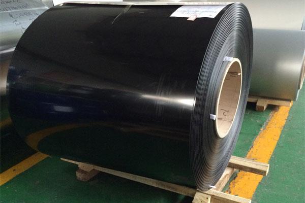 lamina de aluminio color negro