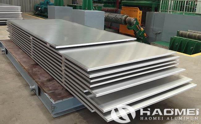 placa de aluminio marino