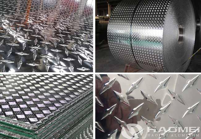 lamina de aluminio antiderrapante para camioneta