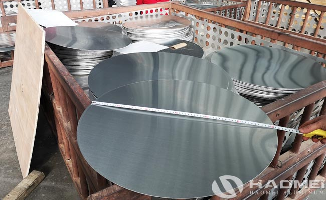 disco de aluminio para menaje
