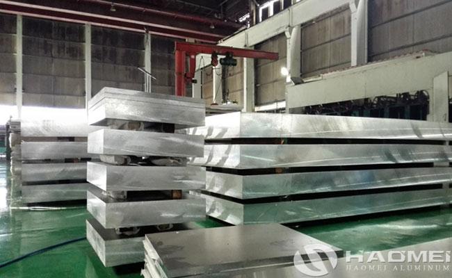 placa de aluminio marino grado