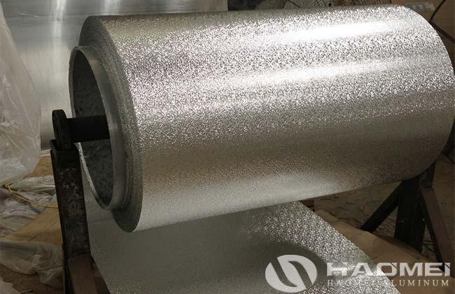 chapa gofrada de aluminio