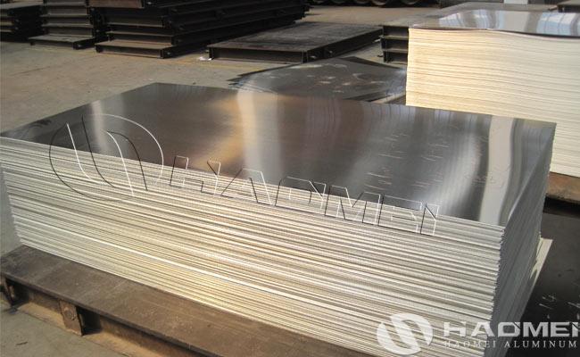 lamina de aleacion de aluminio