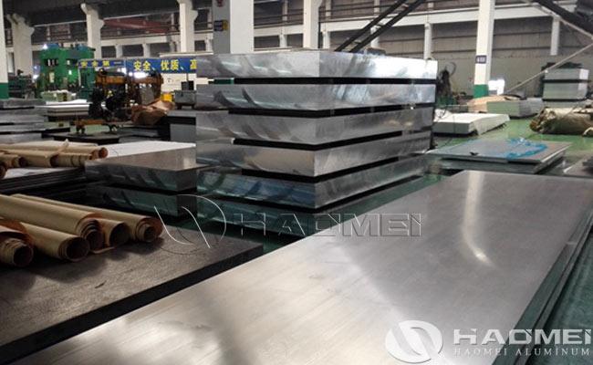 plancha de aluminio aleacion
