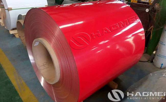 lamina de aluminio prepintado