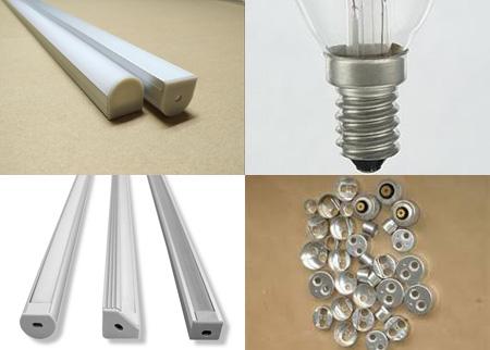 tira de aluminio para la iluminación
