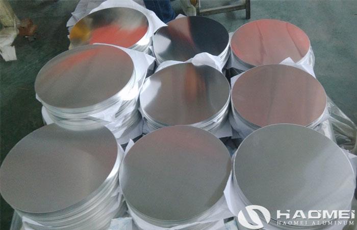 disco de aluminio para embutido profundo