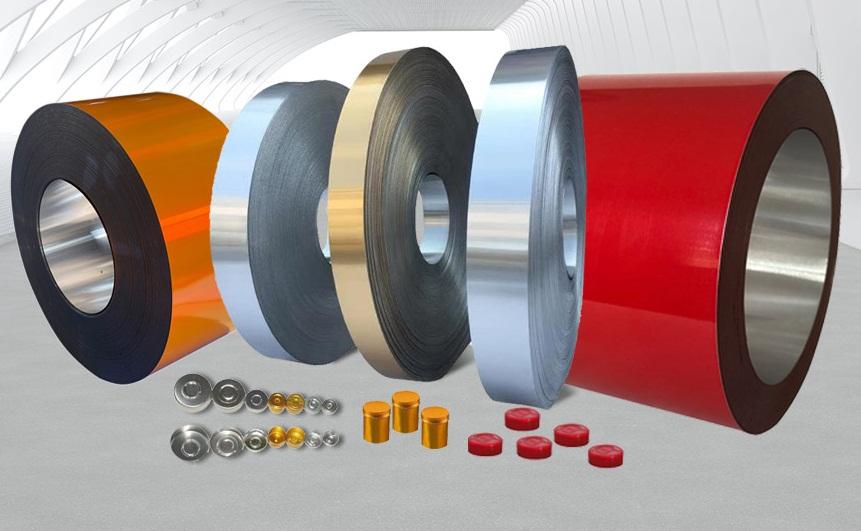 tira de aluminio para tapas