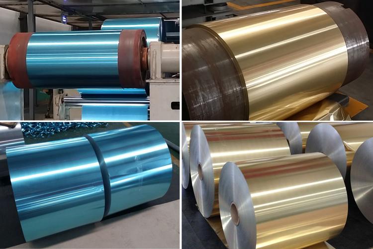 papel de aluminio para aire acondicionado