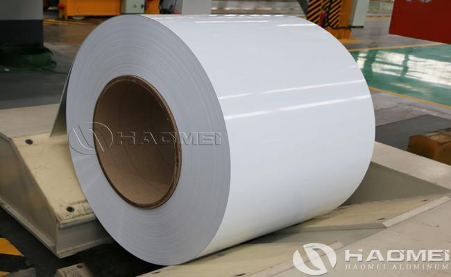 bobinas de aluminio pintado