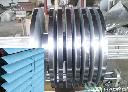 tira de aluminio para obturador