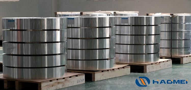 banda de aluminio