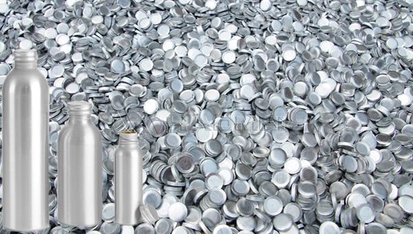 pastillas de aluminio para botella