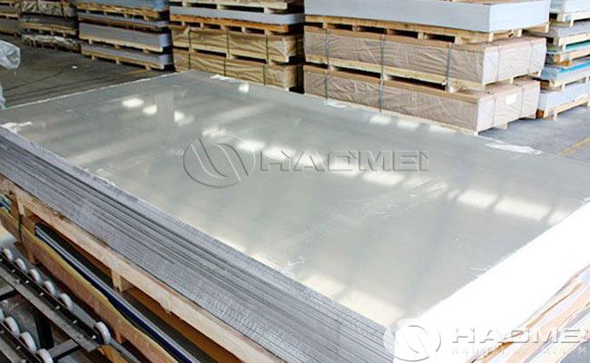 lamina de aluminio molino acabado