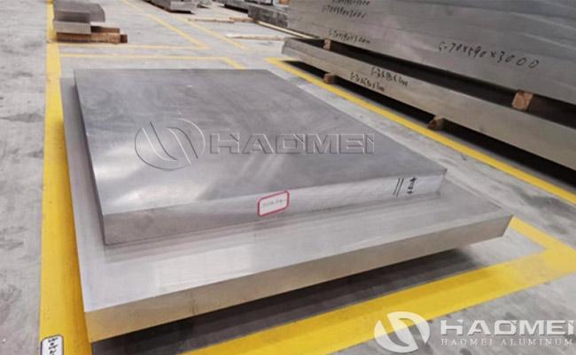 lamina de aluminio gruesa