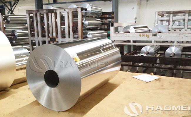 bobinas de papel aluminio