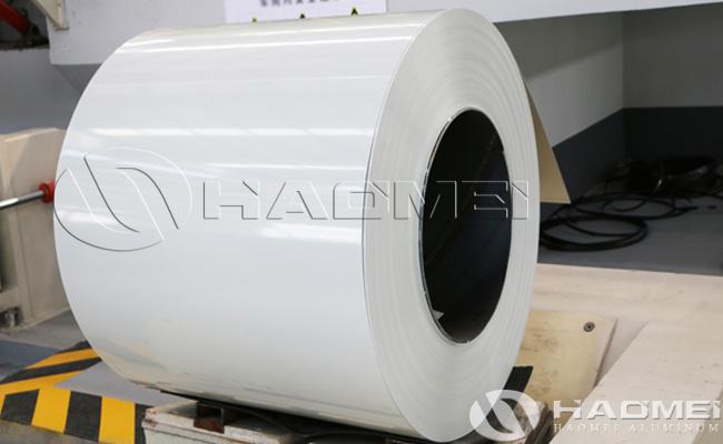 chapa de aluminio blanco precio