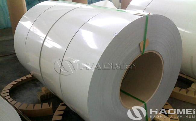 planchas de aluminio blanco